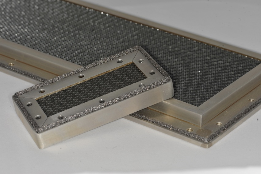 Honeycomb Vent Panels ready for Customer use. Design support available supplied  by EMC Solutions Ireland