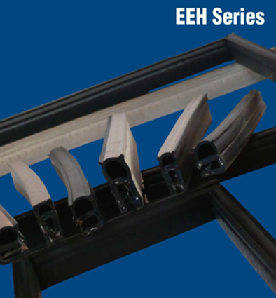 Two-in-One Product: E/E hybrid Gasket provides environmental seal and EMI shielding in one gasket. The gasket features single-flange construction using a wire carrier and EPDM from EMC Solutions Ireland