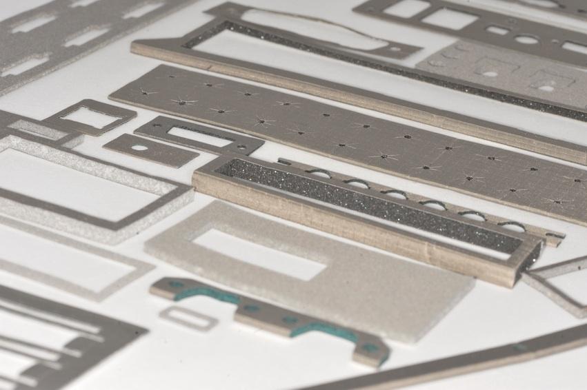 Fabric over foam I/O Gaskets  / Die Cut RFI EMI Gaskets / Environmental EEH Series