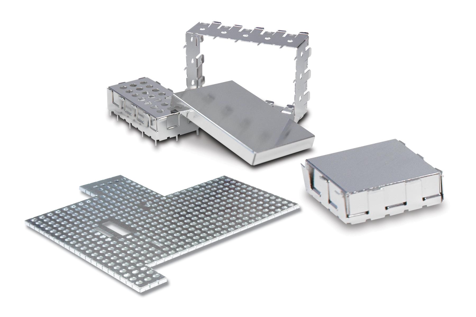 Printed Circuit Board RFI Shields
